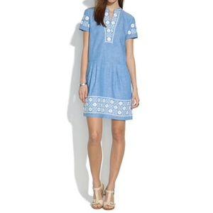MADEWELL l Sunstitch Chambray Dress